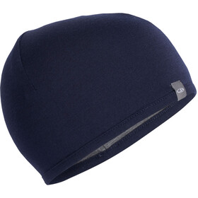 Icebreaker Pocket Gorra, midnight navy/gritstone heather